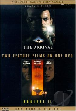 Arrival, The/The Arrival 2 DVD Cover Art
