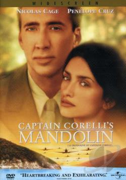 Captain Corelli's Mandolin DVD Cover Art