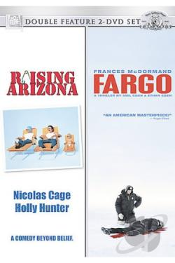 Raising Arizona/Fargo DVD Cover Art