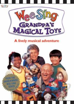 Wee Sing - Grandpa's Magical Toys DVD Cover Art