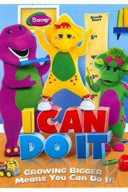 Barney: I Can Do It DVD Cover Art
