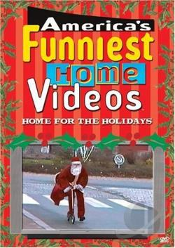 America's Funniest Home Videos - Home for the Holidays DVD Cover Art