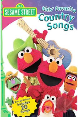 Sesame Street - Kids' Favorite Country Songs DVD Cover Art