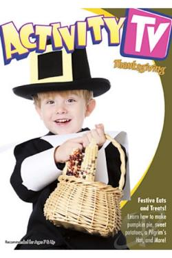 Activity TV - Turkey Day Fun Vol. 1 DVD Cover Art