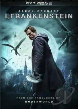 I, Frankenstein DVD Cover Art