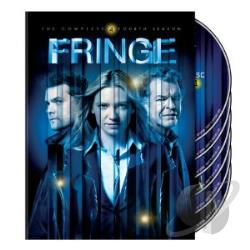 Fringe - The Complete Fourth Season DVD Cover Art