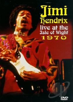 Jimi Hendrix - Live At The Isle Of Wight 1970 DVD Cover Art