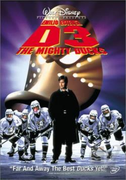 D3: The Mighty Ducks DVD Cover Art