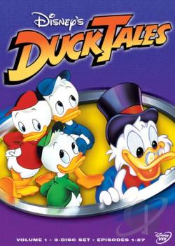 Ducktales - Volume 1 DVD Cover Art
