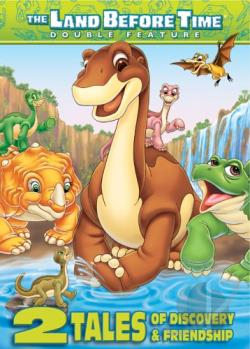 Land Before Time: 2 Tales of Discovery and Friendship DVD Cover Art