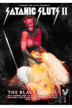 Satanic Sluts II: The Black Masses DVD Cover Art