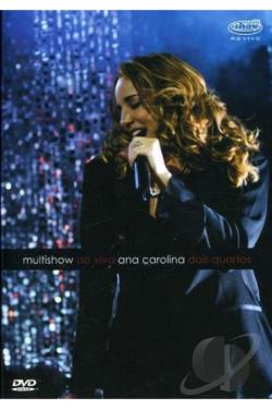Ana Carolina: Multishow ao Vivo - Dois Quarto DVD Cover Art