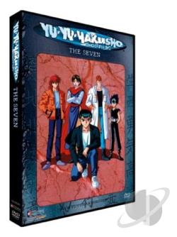 Yu Yu Hakusho: Chapter Black Saga - Vol. 21: The Seven DVD Cover Art