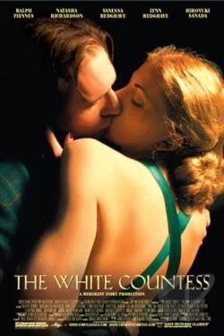 White Countess DVD Cover Art