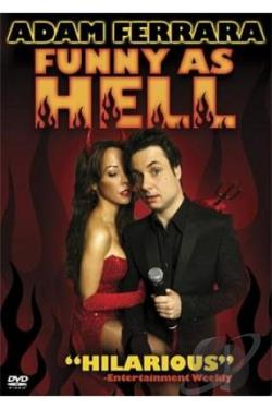 Adam Ferrara - Funny As Hell DVD Cover Art