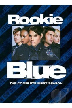 Rookie Blue - The Complete First Season DVD Cover Art