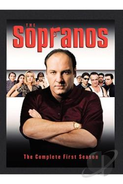 Sopranos - The Complete First Season DVD Cover Art
