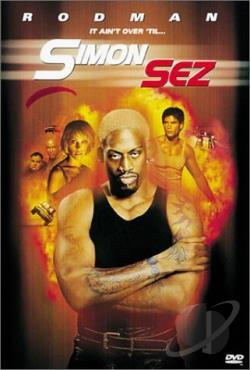 Simon Sez DVD Cover Art