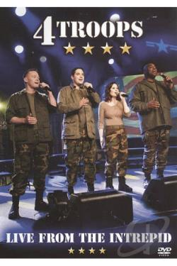 4Troops: Live from the Intrepid DVD Cover Art