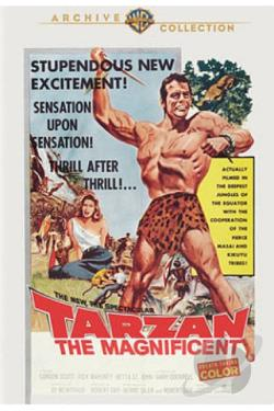 Tarzan the Magnificent DVD Cover Art
