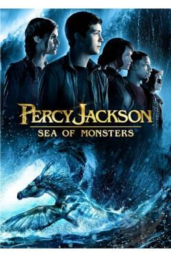 Percy Jackson: Sea of Monsters DVD Cover Art