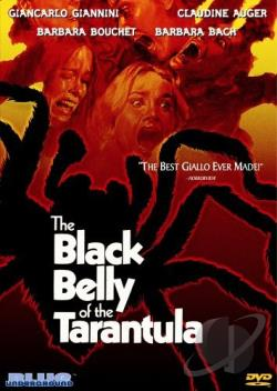 Black Belly of the Tarantula DVD Cover Art