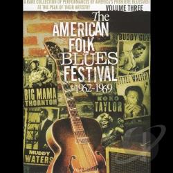 American Folk Blues Festival 1962-1969 - Volume Three DVD Cover Art