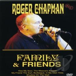 Roger Chapman - Family & Friends DVD Cover Art