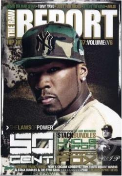 RAW Report - 50 Cent, Boosie and Webbie DVD Cover Art