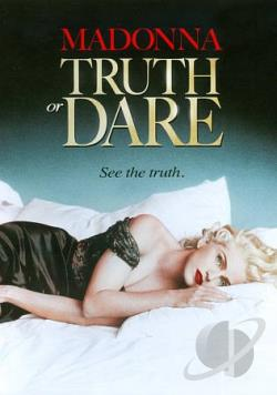Madonna - Truth or Dare DVD Cover Art