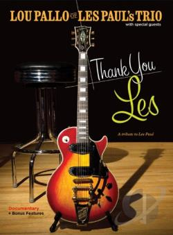 Lou Pallo of Les Paul's Trio with Special Guests: Thank You Les DVD Cover Art