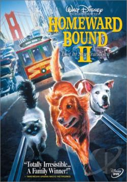 Homeward Bound 2 - Lost in San Francisco DVD Cover Art