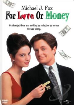 For Love or Money DVD Cover Art