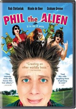 Phil the Alien DVD Cover Art