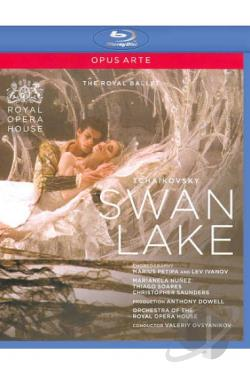 Swan Lake (The Royal Ballet) BRAY Cover Art