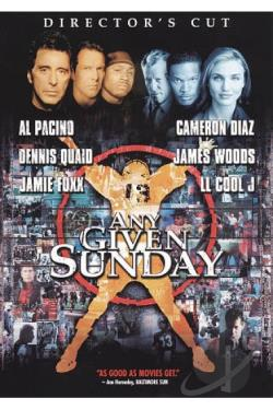 Any Given Sunday DVD Cover Art