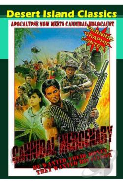 Cannibal Mercenary DVD Cover Art