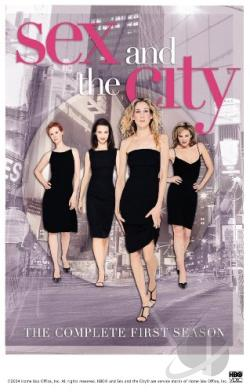 Sex and the City - The Complete First Season DVD Cover Art