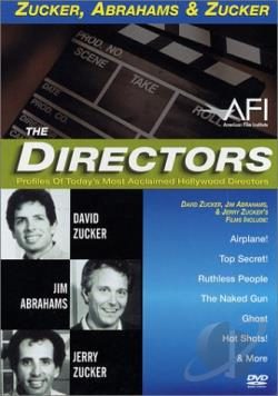 Directors Series, The - Zucker, Abrahams & Zucker DVD Cover Art