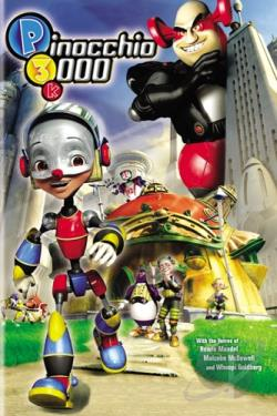 Pinocchio 3000 DVD Cover Art