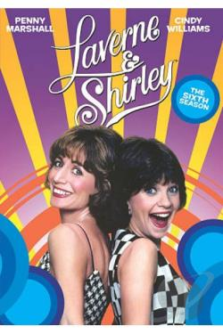 Laverne & Shirley: The Sixth Season DVD Cover Art