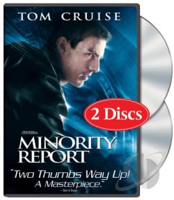 Minority Report DVD Cover Art