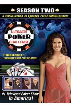Ultimate Poker Challenge - Season Two DVD Cover Art