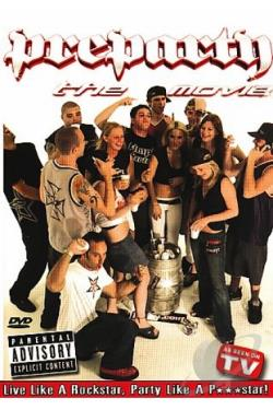 Pre Party: The Movie DVD Cover Art