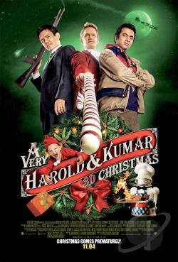 Very Harold & Kumar Christmas DVD Cover Art