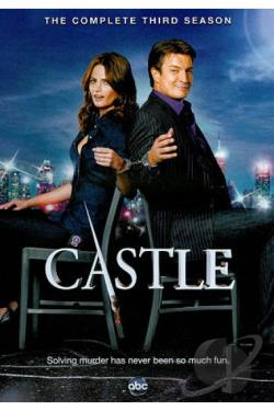 Castle - The Complete Third Season DVD Cover Art