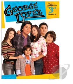 George Lopez - The Complete 3rd Season DVD Cover Art