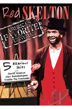 Red Skelton: America's Favorite Funnyman Vol. 1 - 5 Episodes DVD Cover Art