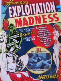 Exploitation Madness - Vol. 10 DVD Cover Art