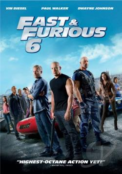 Fast & Furious 6 DVD Cover Art